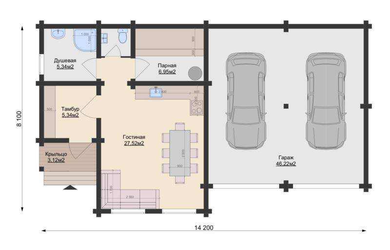 План этажа