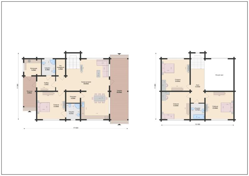 Планы этажа-1