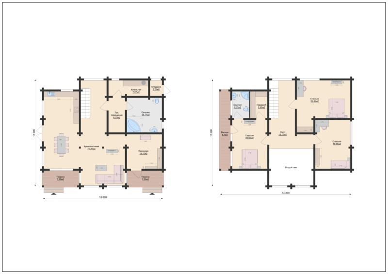 Планы этажей-1