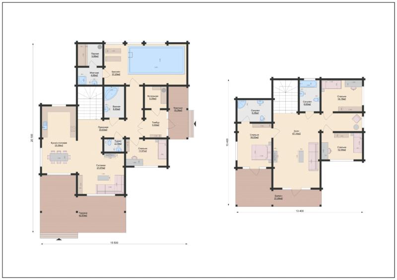 Планы этажей-2