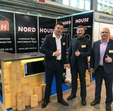 Выставка деревянных домов весна 2019